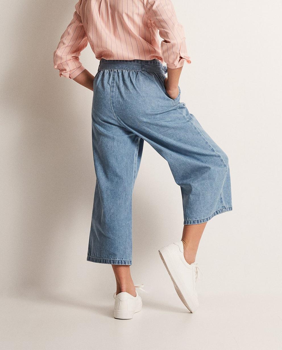 Jeans - Aqua - Jeanshosenrock